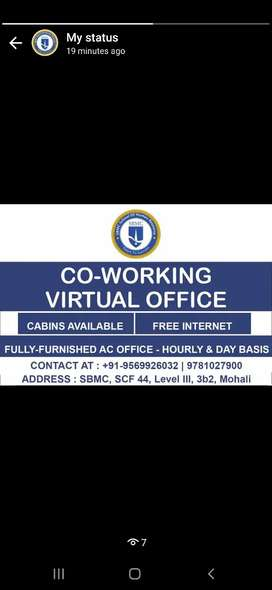 Coworking / Office Space in Mohali Phase 3b2