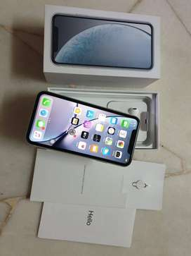I phone XR white  in warranty perfect condition  we are provide bill c