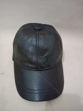 Topi no name full Leather brown