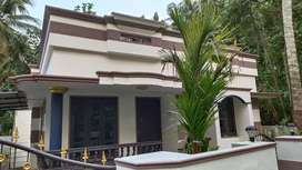 5 cent,1100 sqft, 3bhk 6 year Old house
