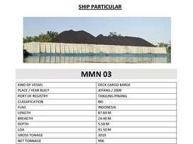 Dijual  Barge 1 set 300 feet Hubungi Miss Palu Via Telp/Wa