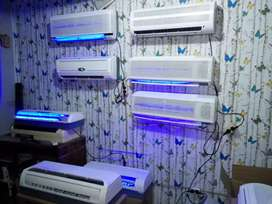 New ac kristal minimalis bnyk type manual remot led