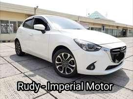 Mazda 2 GT 1.5 AT 2014 Km Antik 37Rb Tgn 1 Siap Pakai Plat Genap