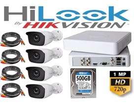 Kamera Vidio, paket komplit camera cctv 2 MP