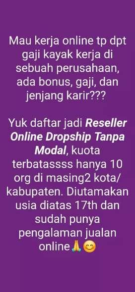 Partner online shop tanpa modal