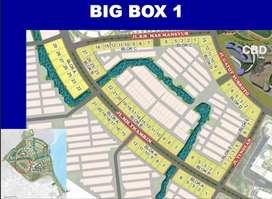 DIJUAL Kavling/Tanah Big Box Komersil Termurah di Jl Boulevard PIK 2