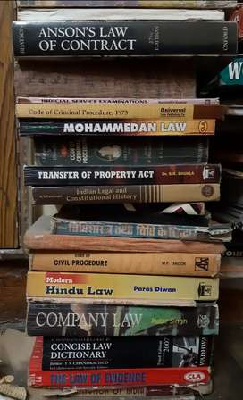 Law books ,bare acts