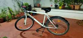 Decathlon light weight bicycle with mobile holder and top speed 40kmph