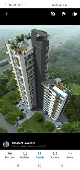 3 bhk semi furnished new flat at karaparamb