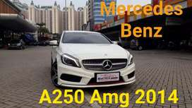 Mercy A250 Amg 2014 nik14 White Km35b mls Panoramic  Xenon Hkardon
