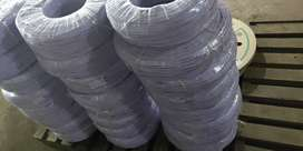 2core electrical wire  for automotive products related white colour