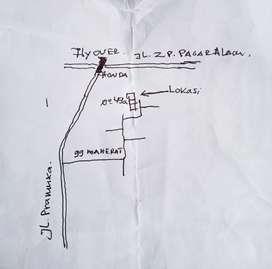 Rumah disewakan Gg. Maherat No 49 Pramuka Rajabasa 6 jt/tahun