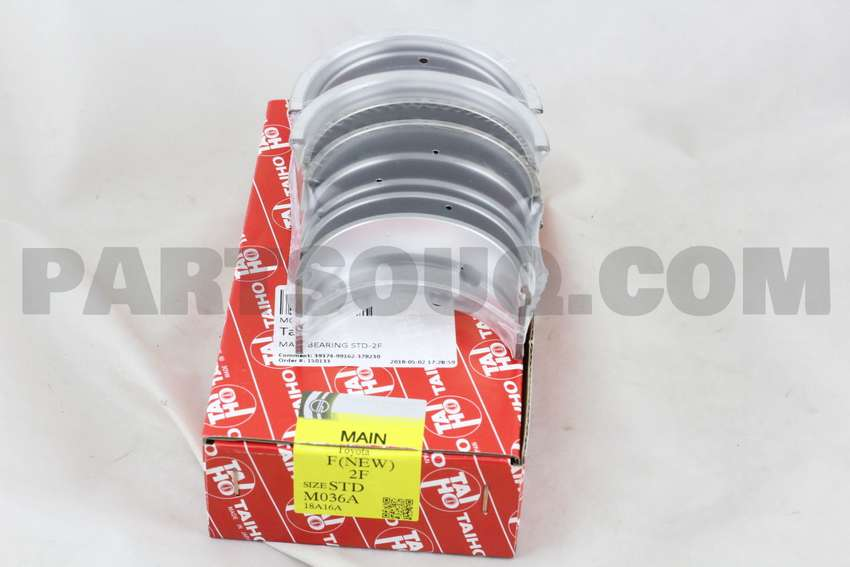 TOYOTA 2F ENGINE  MAIN BEARING 0