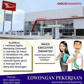 Dibutuhkan Sales Executive Daihatsu