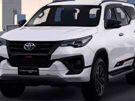 Toyota Fortuner on easy monthly installment