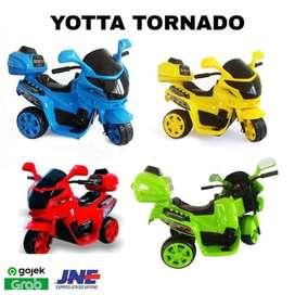 Bergaransi Mainan Anak Motor Aki Tornado TRD MT
