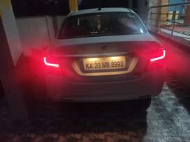 White shift dizire zxi with automatic transmission and well conditione