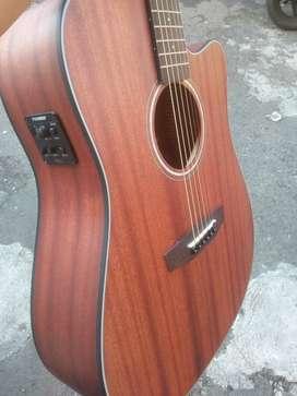 Gitar fender bandess all mahogany buat export