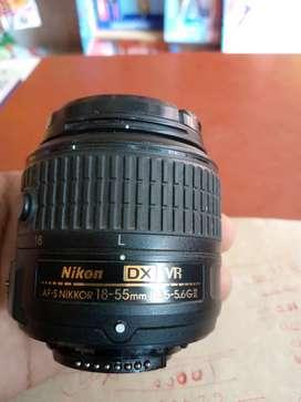 Nikon lens  18-55mm
