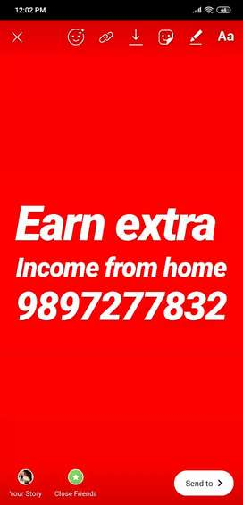 Offering part-time jobs from home