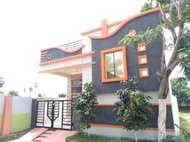proposed 2bhk independent house 100 sqyrds 850sft@rampally(gated)