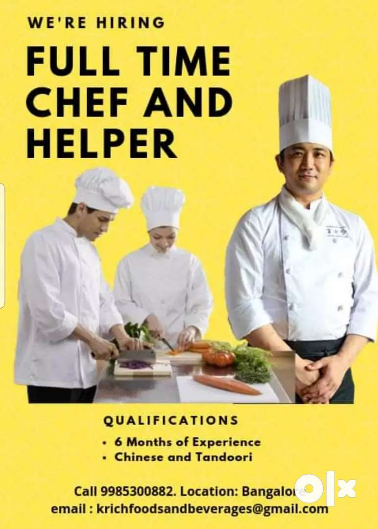 South Indian cook and helper 0