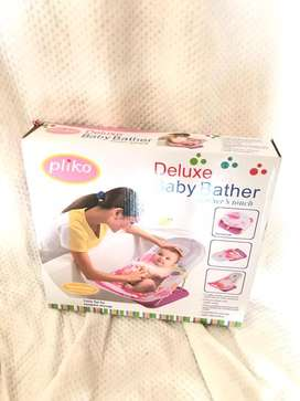 Pliko deluxe baby bather pink tempat mandi bayi