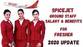 New hiring for ground staff,air ticketing