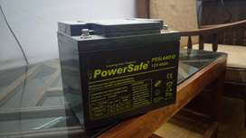 POWERSAFE LEAD ACID SEALED DRY SOLAR BATTERY 12V 40AH
