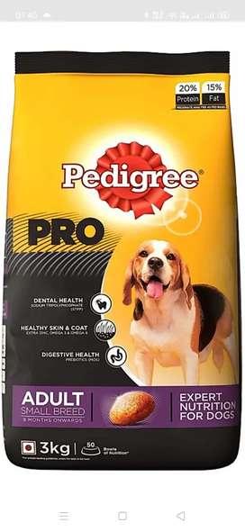 Dog food & accessories