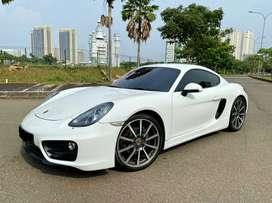 For Sale Porsche Cayman 2.7L 981 2013 ATPM White On Black Full Option