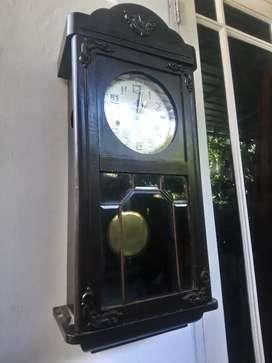 Jam goldanker bandul tua kuno unik antik junghans mauthe kienzle fiag
