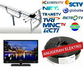 PEMASANGAN BARU ANTENA TV DIGITAL ANALOG