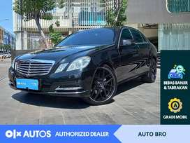 [OLXAutos] Mercedes Benz E300 3.0 Elegance A/T 2012 Hitam #Auto Bro