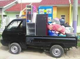Jasa pindahan Rental mobil pick up & truk engkel CDE mobil loskbak