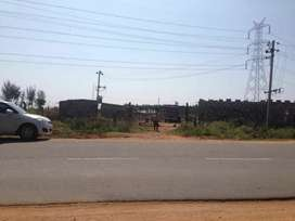Want land near haveri 7 to 8 kms away from city