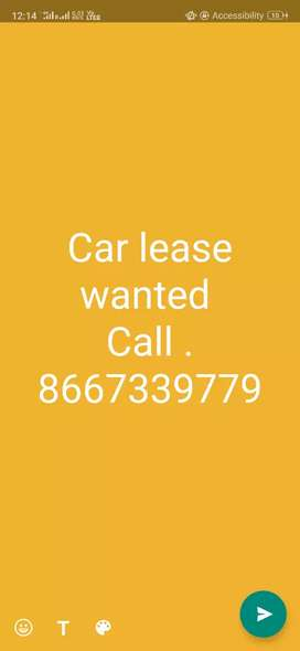 Car lease wanted