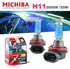 Halogen Foglamp Mobil Michiba H11 Xenon White