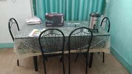 Good condition 6 seater dining table