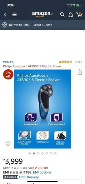 Philips shaver at890 brand new