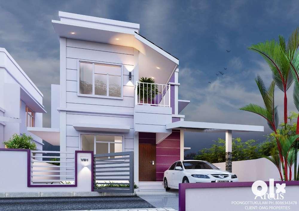 quality modern villas chandranagar 30.90 l onwards