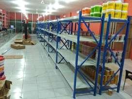 Rak Gudang Besi Baja Serbaguna Kap 250 Kg/level T200 Cm Kuat dan Kokoh