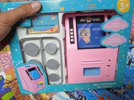 Mainan anak mesin atm baru cod gosend bisa