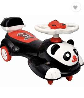 Swing panda car new piece high quality hevy un breakable.