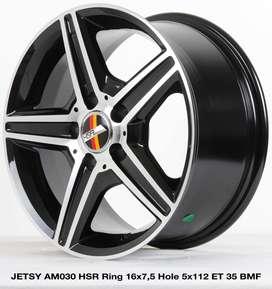 velg masa kini JETSY AM030 HSR R16X75 H5X112 ET35 BMF