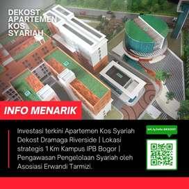 Pilihan Investor Property Apartemen Kos Syariah terbaik di kota Bogor