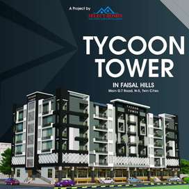 "TYCOON TOWER IN ""Faisal Hills"" B Block On 3.5 Canal Gorgeous Building"