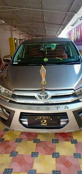 Toyota Innova Crysta 2018 Diesel 80000 Km Driven