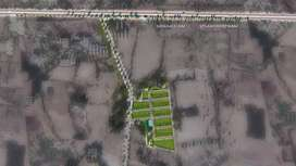 Open plots for sale 2km from mukkam beach