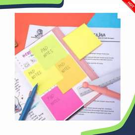 Post it note/Pad note merk deli A020 Warna warni